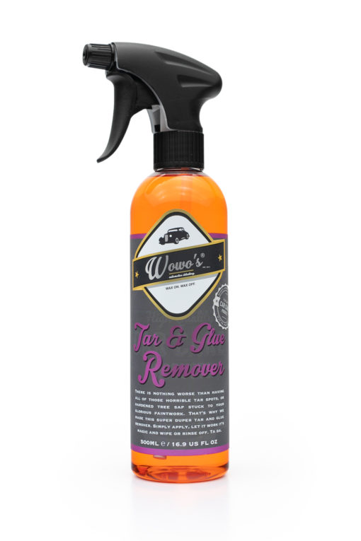 Wowo tar and glue remover